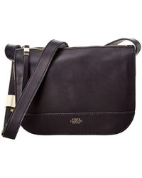 Vince Camuto Posie Leather Crossbody - Blue