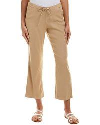 NYDJ - Drawstring Linen-blend Ankle Pant - Lyst
