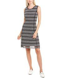 Karl Lagerfeld Crocheted A-line Dress - Black