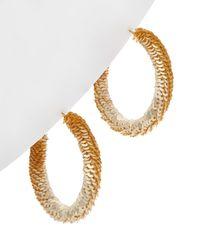 Kenneth Jay Lane Plated Earrings - Metallic