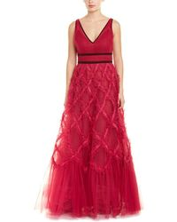 Marchesa notte Gown - Red