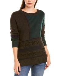 Autumn Cashmere Cashmere & Wool-blend Jumper - Green