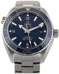 Omega Men's Seamaster Planet Ocean Watch - Metallic