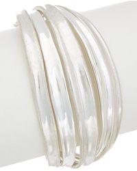 Robert Lee Morris - Colour Wheel Plated Flex Bracelet - Lyst