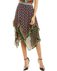 Alice + Olivia Maura A-line Skirt - Multicolour