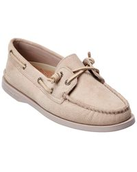 Sperry Top-Sider Vida Leather Boat Shoe - White