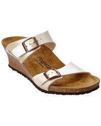 Birkenstock Dorothy Wedge Sandal - White