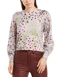 Joie Verna Cashmere-blend Sweater - Purple