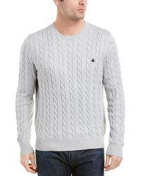 Brooks Brothers - Crewneck Jumper - Lyst
