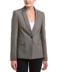 Karen Millen Masculine Tailoring Jacket - Grey