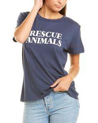 Sub_Urban Riot Sub_urban Riot Rescue Animals T-shirt - Blue