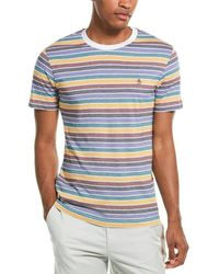 Original Penguin Stripe T-shirt - White
