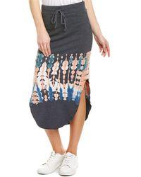 Young Fabulous & Broke Gigi Midi Skirt - Black