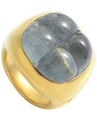 Pomellato - 18k Aquamarine Ring - Lyst