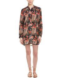 Tolani - Natasha Silk Shift Dress - Lyst