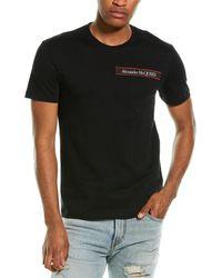 Alexander McQueen Logo Detail T-shirt - Black