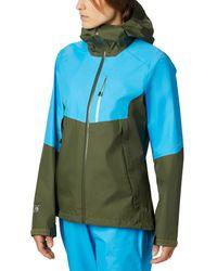 Mountain Hardwear Exposure/2 Gore-tex Paclite Jacket - Blue