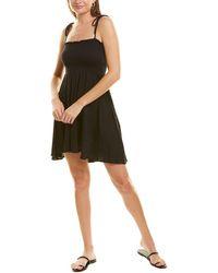 Vitamin A Gigi Cover-up Dress - Black