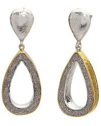 Gurhan - Mystere 24k Over Silver 20.85 Ct. Tw. Drusy Quartz Drop Earrings - Lyst