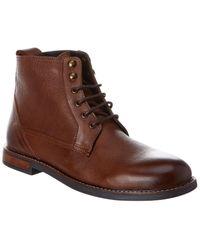 Ben Sherman Luke Leather Boot - Brown