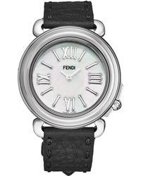 Fendi Selleria Watch - Metallic