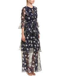 Lucy Paris Courtney Maxi Dress - Blue