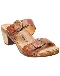 Mephisto - Lily-m Leather Sandal - Lyst