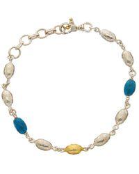 Gurhan - Cocoon 24k & Silver Apatite Bracelet - Lyst