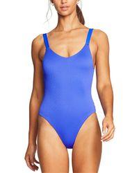 Vitamin A Leah Bodysuit - Blue