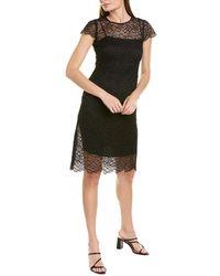 Elie Tahari Elissa Shift Dress - Black