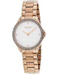 COACH Modern Sport Watch - Metallic