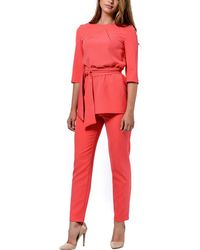 LADA LUCCI Tunic & Pants - Red