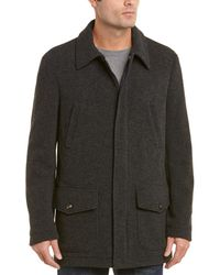 Pal Zileri Safari Wool-blend Jacket - Grey