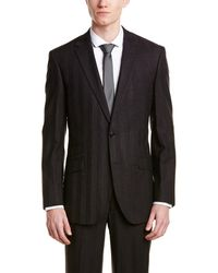 English Laundry - Wool Slim Suit With Flat Front Pant - Lyst