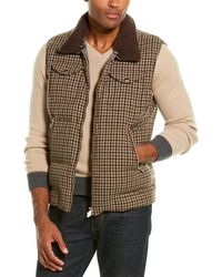Brunello Cucinelli Cashmere-trim Vest - Multicolor