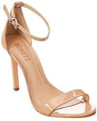 Schutz - Cadey Lee Patent Sandal - Lyst