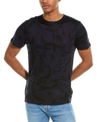 7 For All Mankind 7 For All Mankind Palm Print T-shirt - Blue