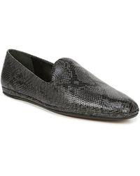 Vince Paz Leather Loafer - Black