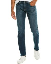 7 For All Mankind 7 For All Mankind Slimmy Champlin Slim Straight Leg - Blue