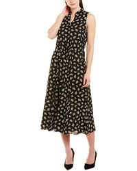 Anne Klein Midi Dress - Black