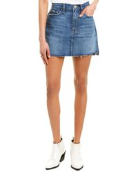 FRAME Denim Le Mini Skirt - Blue