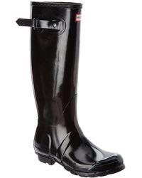 HUNTER Original Tall Boot - Black