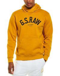 G-Star RAW Raw Ashor Hoodie - Yellow