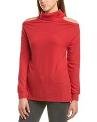 Michael Stars Cold-shoulder Tunic - Red