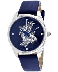 Jean Paul Gaultier Navy Tatoo Watch - Blue