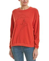LNA - Bisous Sweatshirt - Lyst
