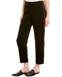 Bailey 44 Marissa Silk-trim Pant - Black