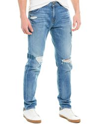 7 For All Mankind 7 For All Mankind Ryley Light Wash Slim Taper Leg - Blue