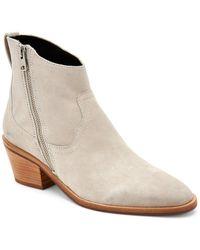 AllSaints Allsaints Suede Boots - Natural