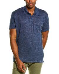 Grayers Soldano Linen Pocket T-shirt - Blue
